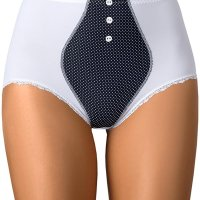 Ginger Maxi high waist maxi ladies briefs. Elegant high waisted briefs made of smooth knitted fabric with the cutest dots. Interesting design accentuates your figure. Cute buttons at the front. Complete your look with Ginger bra. Sun, 31 Jan 2021 09:36:56 +0400
