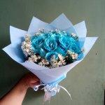 Freshcut Flower Bunga Bucket Wisuda