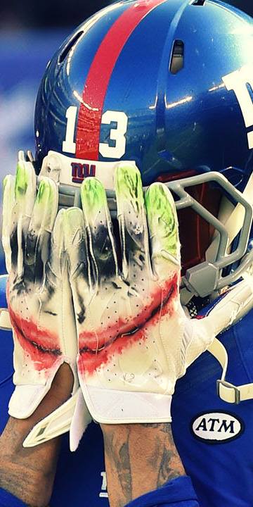 Odell Beckham Jr Joker Gloves : odell, beckham, joker, gloves, Odell, Beckham, Joker, Gloves, Cheap, Online, Shopping
