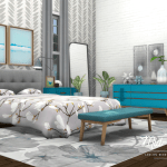 Peace S Place Mid Century Abode Bedroom Addon For Ts4 It Was
