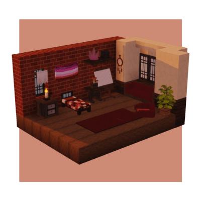 Minecraft Interior Tumblr