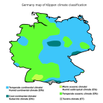 Willkommen In Deutschland Germany By Koppen Climate Classification Map