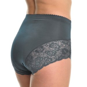 These high-waisted briefs have a cute lace accent around the thighs and are suitable for slight... , Sat, 19 Jun 2021 09:36:33 +0100
