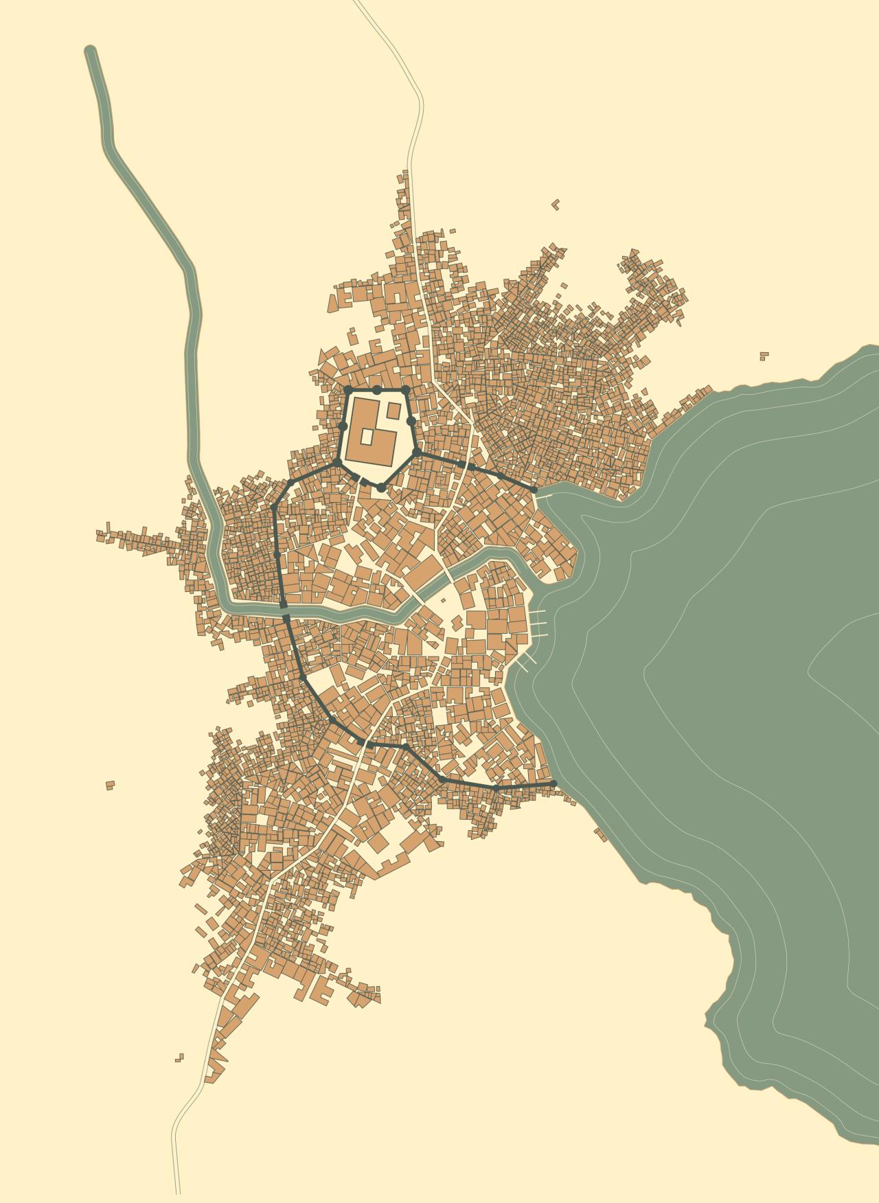 Fantasy City Map Generator : fantasy, generator, Stuff, Medieval, Fantasy, Generator, Watabou