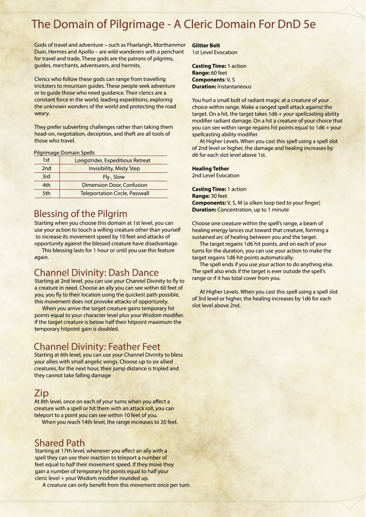 5e Fall Damage From Jumping : damage, jumping, Subclass, Week,, Inspired, To...