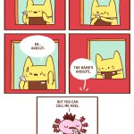 Cat S Cafe Never Thought I D Create A Comic With An Axolotl