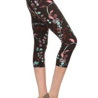 Premium Quality Ultra REGULAR and PLUS SIZE Soft Best Selling Capri Cropped Print Leggings. These feel AMAZING t hey are Capri, better priced Let's. I bought two and once I am done with this review I am purchasing more! I am well e ndowed on my bottom and have think thighs. I am a size 12 jeans (on a good day) and size large on regular leggings and e xercise pants. The one size fits me perfectly, not tight, not lose, doesn't hang low and I don't have to keep pullin g them up like I normally do with tights due to my large behind. I absolutely recommend these! NOTE the Lilac in Bloom i s not as pink as in the sellers picture. I've attached a picture of what it looks like in the sun. Sat, 13 Feb 2021 04 :48:28 +0400
