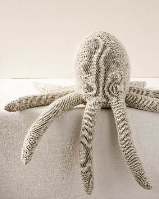 Octopus Knitting Pattern : octopus, knitting, pattern, Stitchery, Witchery, Octopus, Knitting, Pattern, Purl...