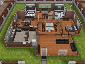 Sims Freeplay Original Designs This is a requested one story design It features