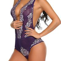 Women Sexy Halter Lace Deep V-Neck Floral See Through Lingerie Bodysuit. Featuring backless,floral lace patchwor k and halter,this lingerie bodysuit makes you sexy and charming. See through and deep v-neck design,this bodysuit is sui table for wedding , honeymoon, valentine's day, anniversary, bedroom, bathroom. Thu, 29 Oct 2020 04:48:39 +0400