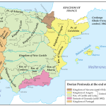 The Iberian Peninsula At The End Of 15th Century Maps On The Web