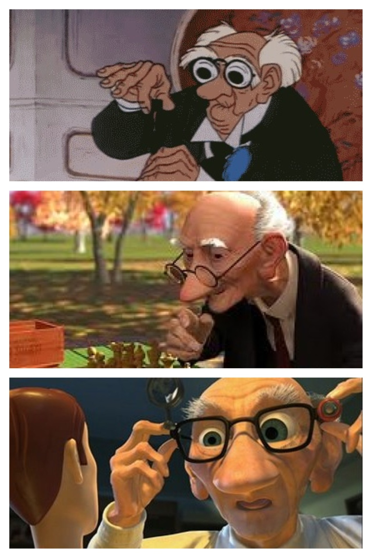 Old Man From Toy Story : story, Disney, World, Disneyland, Spring, About, Aristocats,...