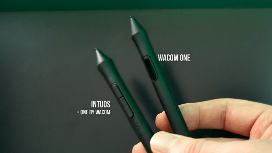 wacom one vs intuos pens