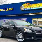 Rimtyme Custom Wheels Tires Take A Look At This 2010 Nissan Maxima We Just
