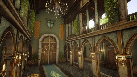 Elven Forest Throne room inspired by Final Fantasy s universe