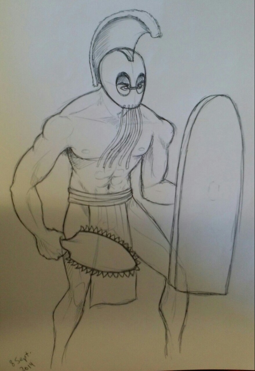 Hawaiian Warrior Drawing : hawaiian, warrior, drawing, Squonkhunter, Wanted, Learn, To...