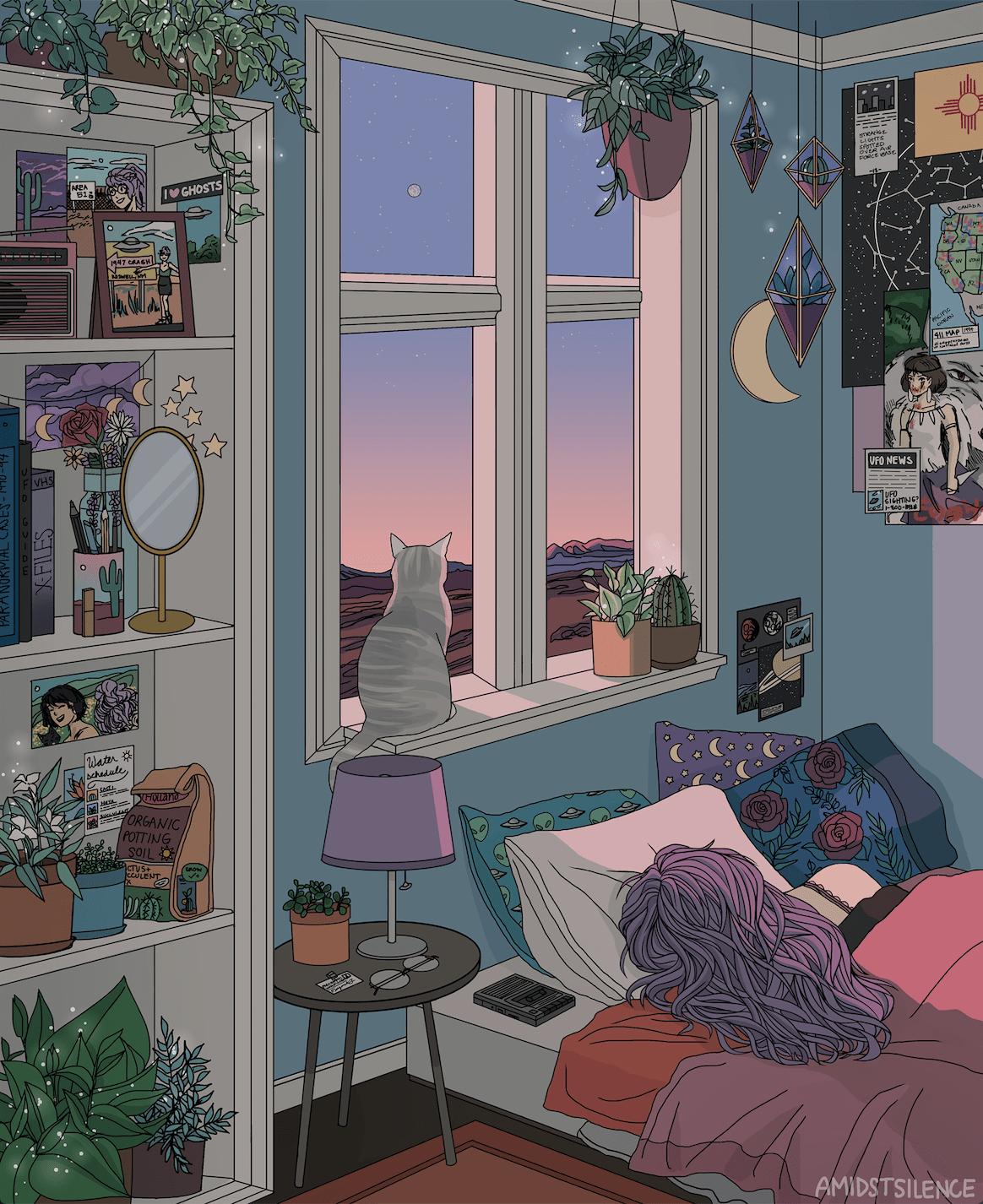 Aesthetic Room Tumblr : aesthetic, tumblr, Amidstsilence, Early, Morning