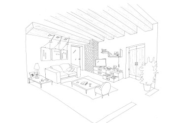 Bedroom Room Coloring Pages 5