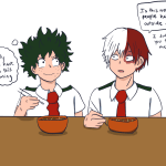 Boueibu Love Happy Kiss My Hero Academia Betchyoubetter It S Fine Todoroki He Only Worried
