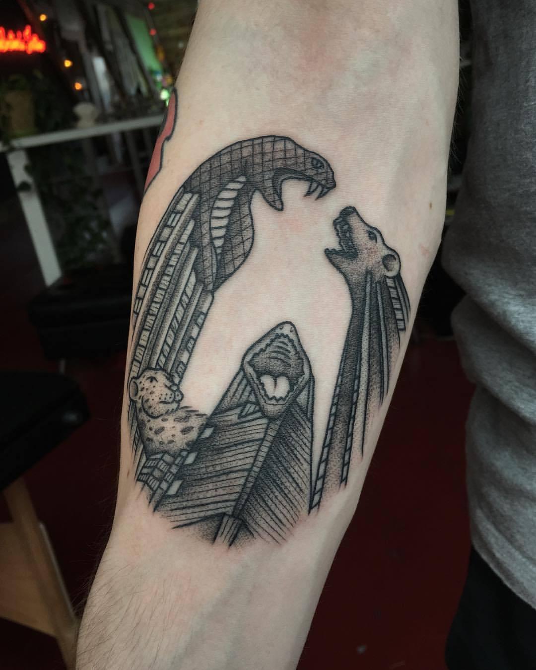Steely Dan Tattoo : steely, tattoo, Johnathan, Fleming, Tattoo