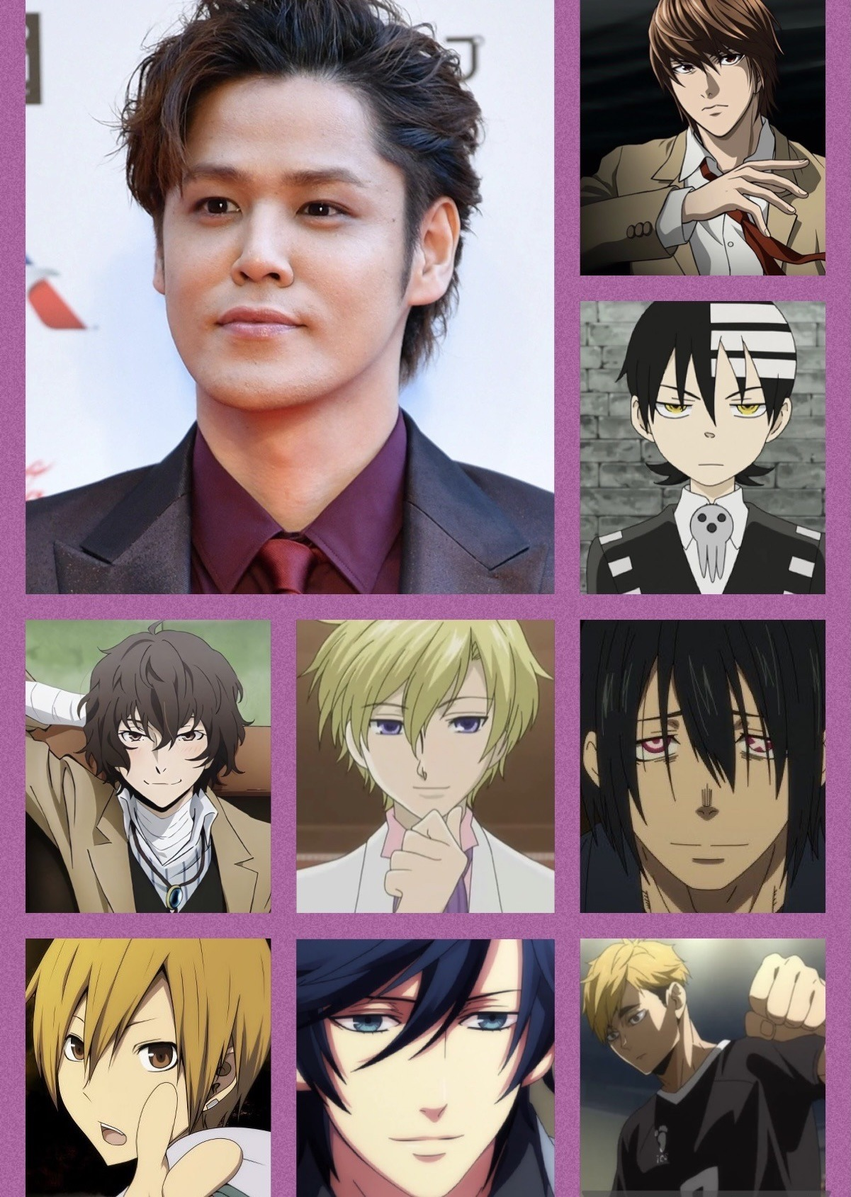 176 cm (5 ft 9 in) taku yashiro (八代 拓, yashiro taku, born january 6, 1993) is a japanese voice actor affiliated with vims talent agency. Japanese Voice Actors Explore Tumblr Posts And Blogs Tumgir