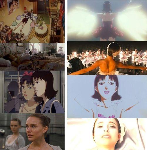 illusion cinéma — Perfect Blue (Satoshi Kon, 1997) Black Swan...