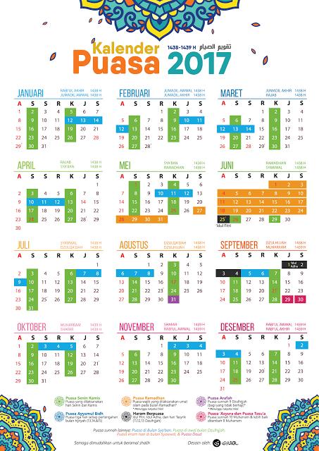 Kalender Hijriyah 2017 : kalender, hijriyah, Tumblr