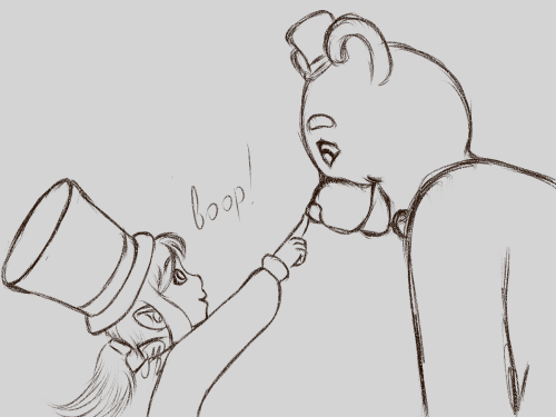 at this point i refuse to draw animatronics because of
