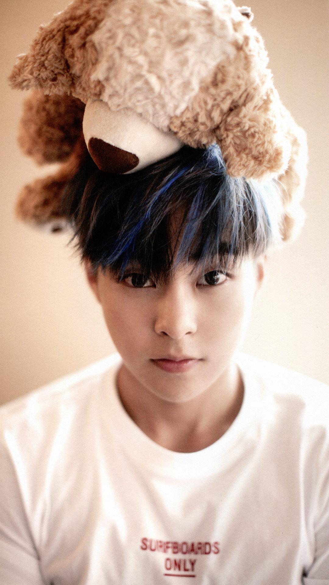 Xiumin Cute : xiumin, Kpop//Khh//Kdrama, Lockscreens, Wallpapers, Xiumin, Phone, Requested, By...