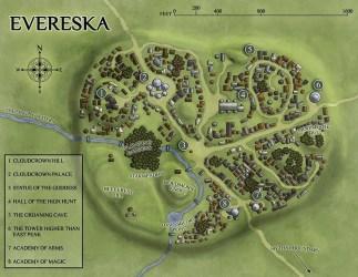 Venatus Maps The high magic Elven city of Everska popularized