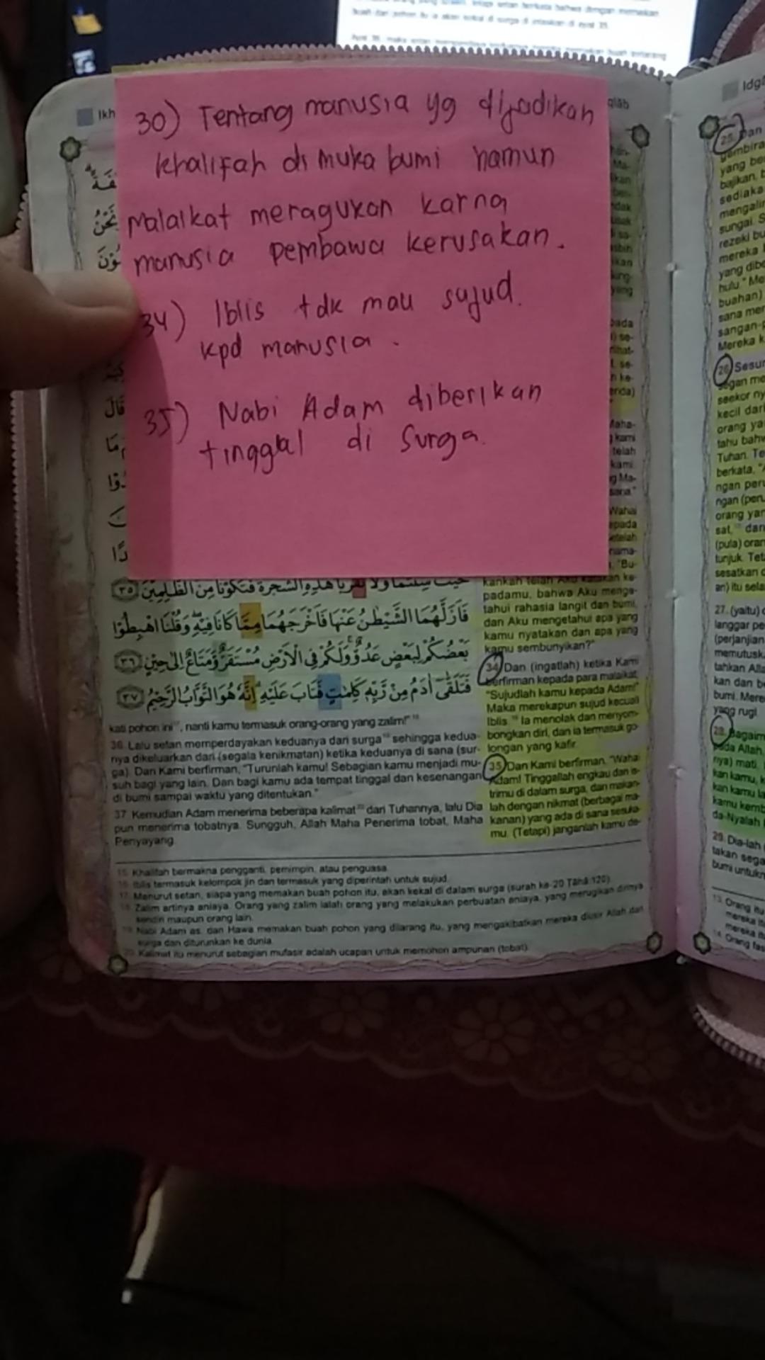Qs Al Baqarah Ayat 30 Beserta Artinya : baqarah, beserta, artinya, Syifagaida