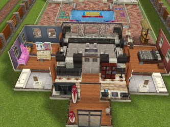 Sims Freeplay Original Designs These are the dimensions of my Beach House design