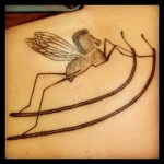 The Word Made Flesh This Is My Rocking Horse Fly Tattoo Its An