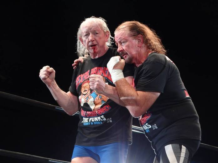 Shitloads Of Wrestling — Dory Funk Jr. and Terry Funk [October 27th,  2013]...