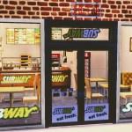 Wicked Pixxel Subway Restaurant In A Strip Mall Subway Cc