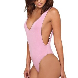 women's Amara Knit Bodysuit. Sleeveless knit thong bodysuit featuring a plunging V cut neck and... , Mon, 26 A pr 2021 04:48:53 +0100