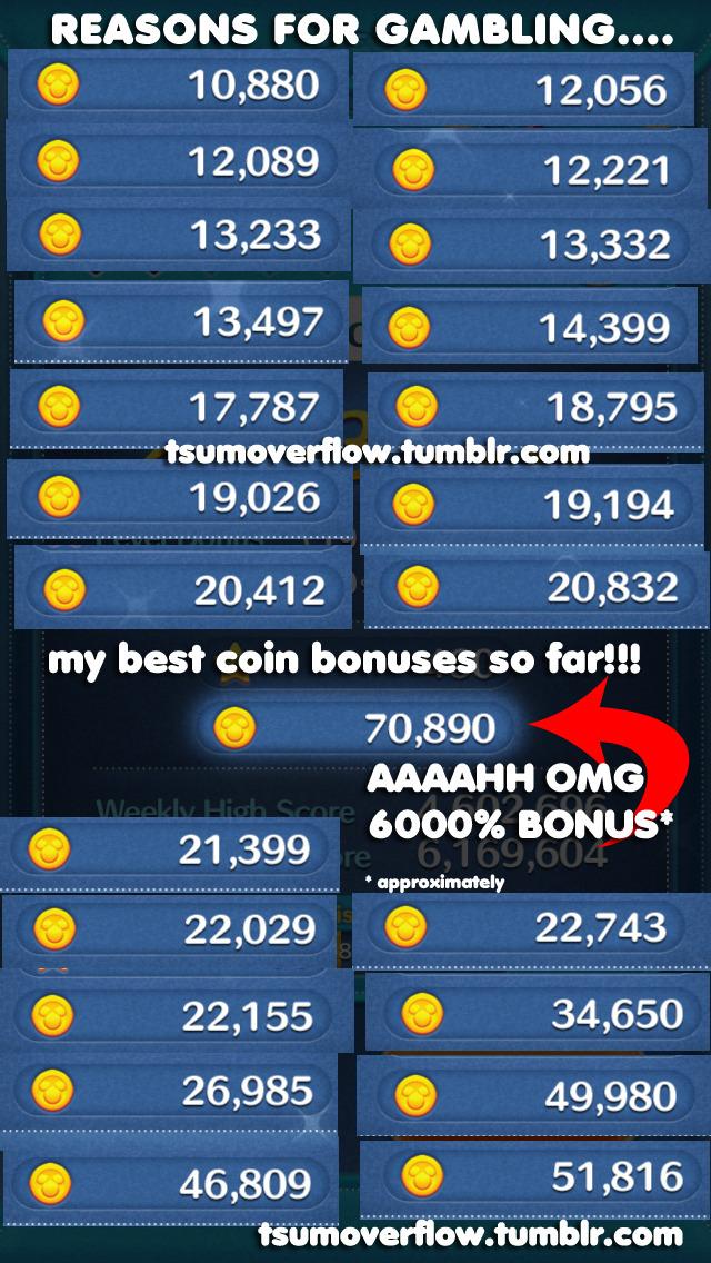 Best Tsum For Coins : coins, Overflow, 積むオーバーフロー, Bonus/Boost
