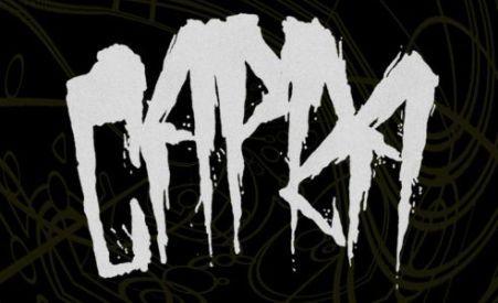 capra, capra band logo, blacklight media records, metal blade records