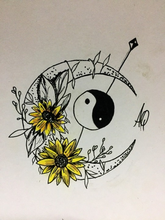 Sunflower Tattoo Tumblr : sunflower, tattoo, tumblr, Rainbow-Cloud9, Sunflowers, Vibes, 🌻🌻🌻🌻🌻