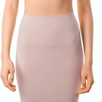 Women's Shapewear High Waisted Nylon Firm Tummy Control Half Slip Body Shaper. MDshe offers women's shapewea r nylon half slip with 360 degrees of firm compression and trimming action focused on the waist, tummy and hips. MD has  a beautiful choice of short half slip bodyshaper, plus size half slips, and half slips for dresses that will perfectly r eshape your figure giving you a smooth, sleek look under skirts and dresses. Its elastic and breathable fabric adapts sm oothly to your skin making you feel at ease when wearing this high waist control half slip shapewear in any situation. W ed, 19 Aug 2020 19:12:40 +0400