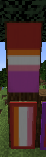 How To Make An American Flag Banner In Minecraft : american, banner, minecraft, Banner, Minecraft