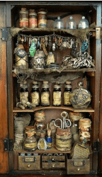 Rustic Witchy Kitchen 6