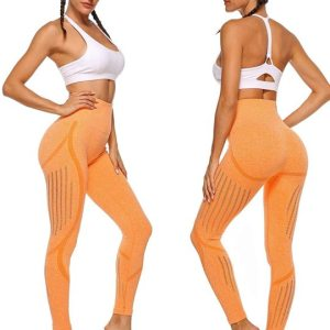Women's High Waist Seamless Leggings Ankle Yoga Pants Tummy Control Running Workout 4 Way Stretch... , Mon, 30  Nov 2020 04:48:40 +0000