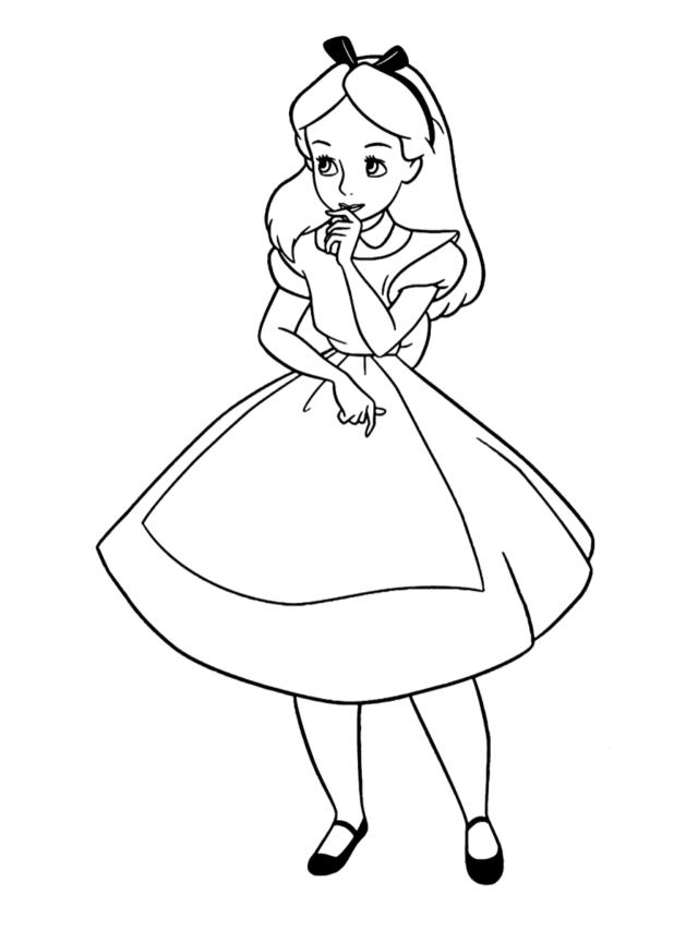 Welcome, adventurer! — Alice in Wonderland coloring sheets!!