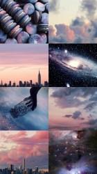 Aesthetic Wallpapers Pastel Sky & Galaxy Aesthetic 🌌 @idekdontaskme