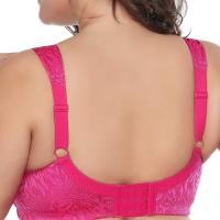 Women's Full Figure Comfort Wire Free Minimizer Support Bra. Light, unlined cup without padding, show the natu ral shape. No underwire, no burdens, no pressure on your breast, comfortable with it for a day. Full coverage, cover mos t of your breast. Especially fit for women with full figure. Mon, 07 Sep 2020 04:48:47 +0400