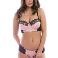 WOMENS PINK LACE VICTORIA BRALETTE BRA AND HIPSTER SET SEXY LINGERIE SET. Each of our bikini sets is made to be as comfortable as they are cute. Wear them under your work clothes like a naughty secret, for a romantic date night out with the husband, or as a sexy, tantalizing surprise for a hot night with a lover. Most importantly, we want you to feel good about yourself each time you put them on. Sun, 08 Nov 2020 04:48:42 +0400