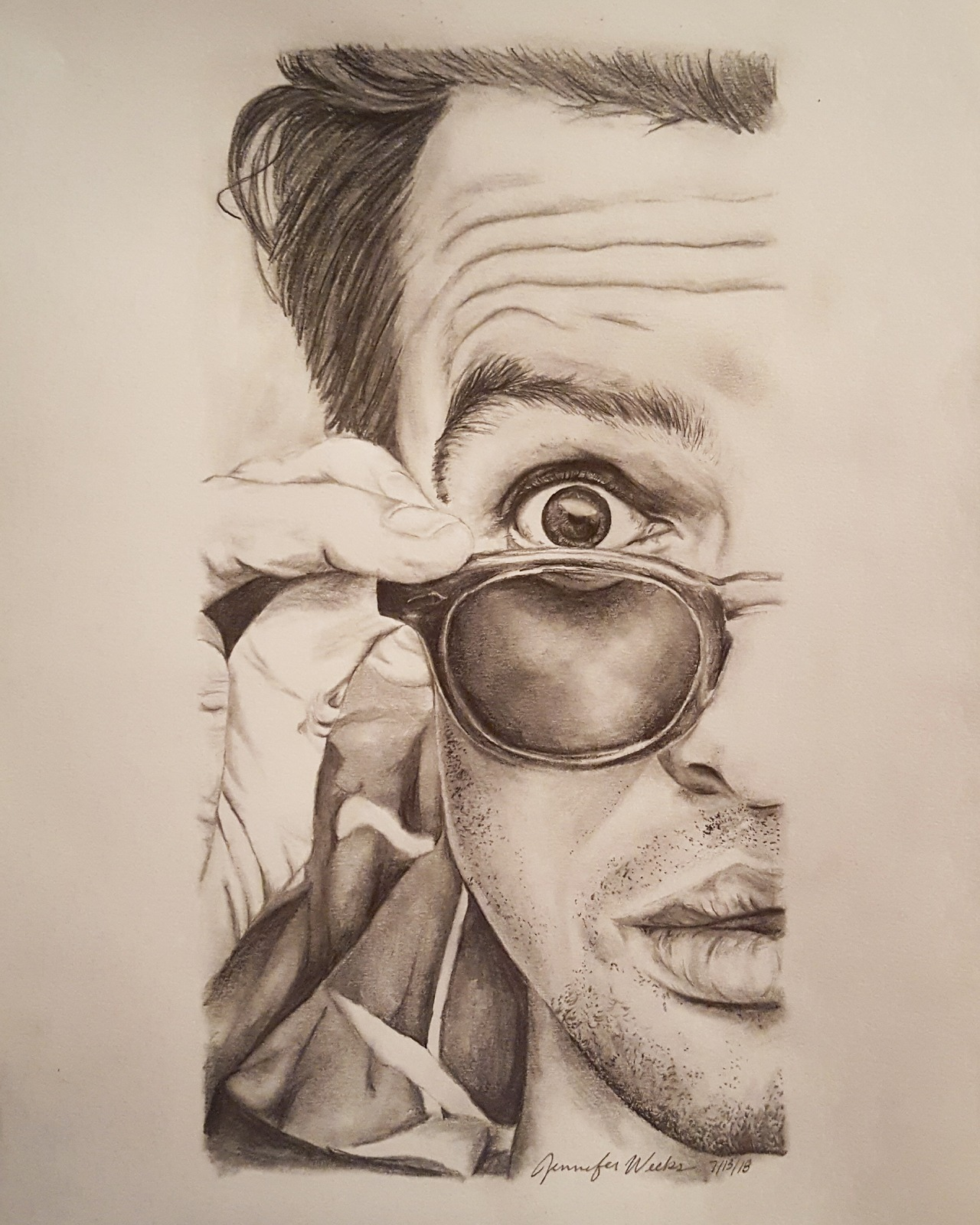 Brendon Urie Drawing : brendon, drawing, Jen's, Little, Drawing, Brendon, Because