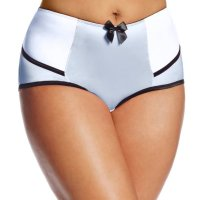 Women's Charlotte Highwaist Brief. I love this product! It fit perfectly. I typically wear a size 12 so I got  a large.However you have to be careful when washing it because the color runs. Other than that very happy with my purcha se! Thu, 27 May 2021 14:24:29 +0400