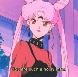 80\'s Pink Anime Aesthetic 18